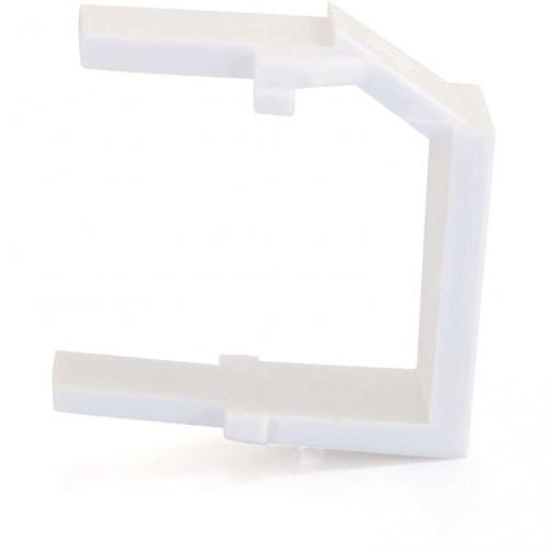 C2G Snap In Blank Keystone Insert Module   White Alternate-Image2/500