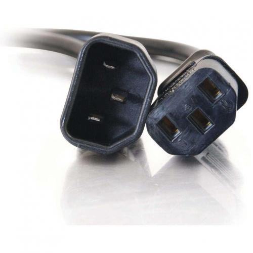 C2G 6ft 14 AWG 250 Volt Power Extension Cord (IEC320C14 To IEC320C13) Alternate-Image2/500