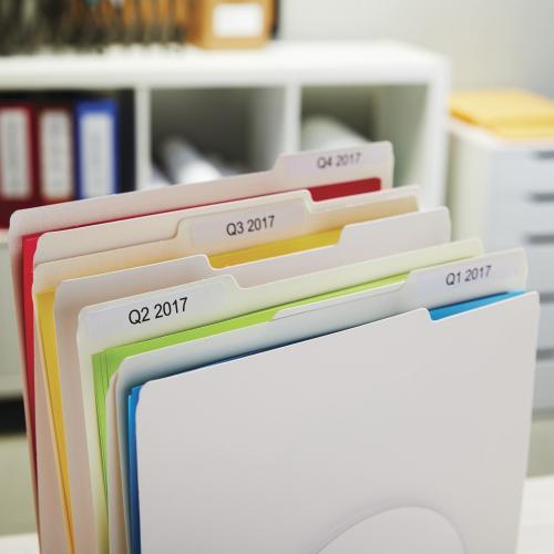 Dymo LabelWriter File Folder Labels Alternate-Image2/500