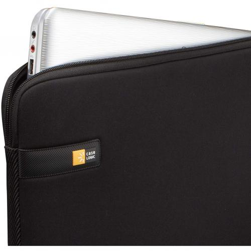 "Case Logic LAPS 116 Carrying Case (Sleeve) For 15"" To 16"" Notebook   Black Alternate-Image2/500"