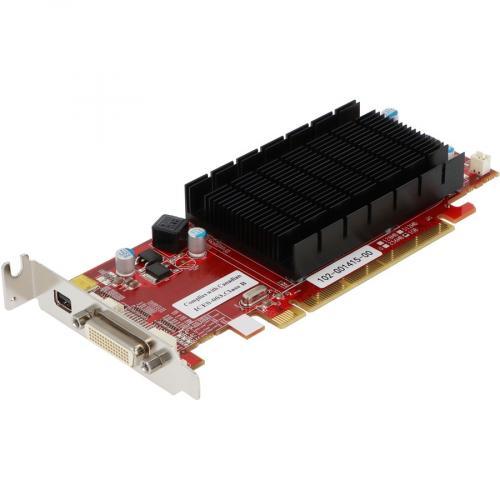 VisionTek Radeon 6350 SFF 1GB DDR3 3M DMS59 (2x DVI I, MiniDP) W/ 2x DVI I To VGA Adapter Alternate-Image2/500