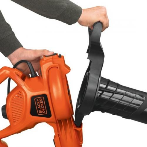 Black & Decker 12 Amp Blower/Vacuum/Mulcher Alternate-Image2/500