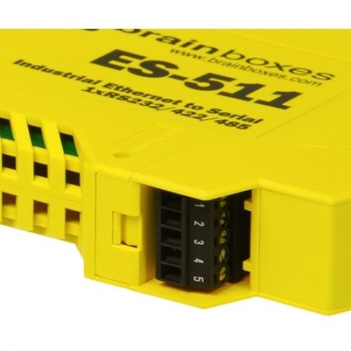 Brainboxes Industrial Ethernet To Serial 1xRS232/422/485 Alternate-Image2/500