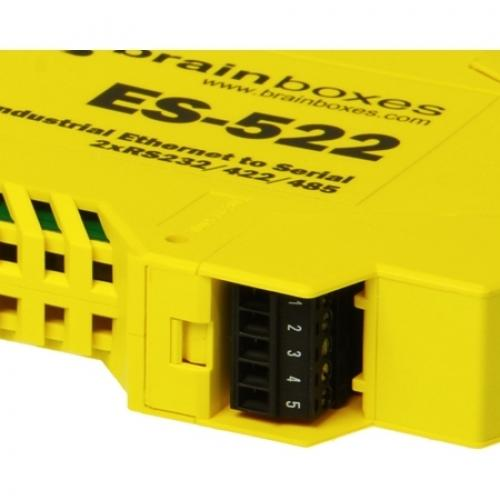 Brainboxes Industrial Ethernet To Serial 2xRS232/422/485 Alternate-Image2/500
