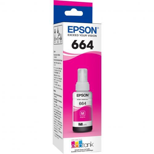 Epson T664 Original Ink Cartridge   Magenta Alternate-Image2/500