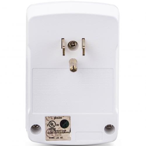 CyberPower CSB100W Essential 1 Outlet Surge Suppressor Wall Tap   Plain Brown Boxes Alternate-Image2/500