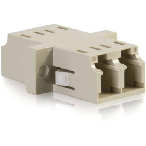 C2G LC/LC Duplex Multimode Fiber Coupler Alternate-Image2/500