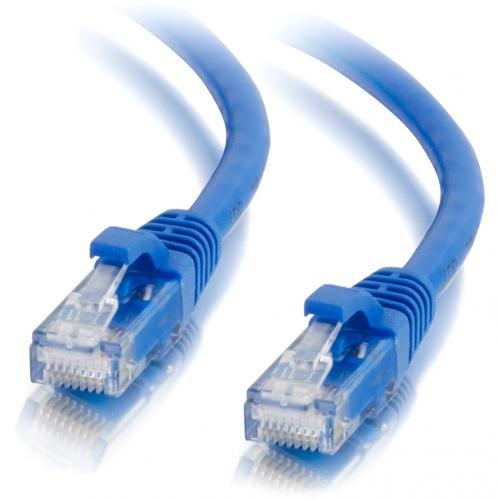 C2G 9ft Cat6a Snagless Unshielded (UTP) Network Patch Ethernet Cable Blue Alternate-Image2/500