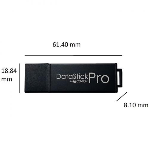 Centon 64GB DataStick Pro USB 3.0 Flash Drive Alternate-Image2/500