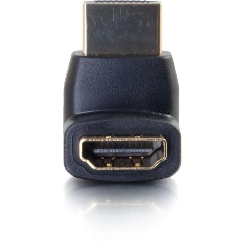 C2G HDMI To HDMI 90° Up Adapter   Male To Female Alternate-Image2/500