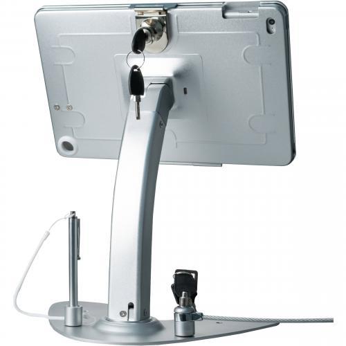 CTA Digital Anti Theft Security Kiosk Stand???For Ipad 2 4 & Ipad Air 1 2 Alternate-Image2/500