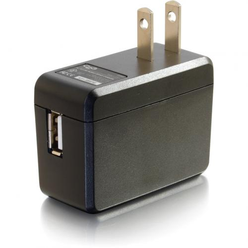 C2G USB Wall Charger   AC To USB Charger   5V 2A Output Alternate-Image2/500