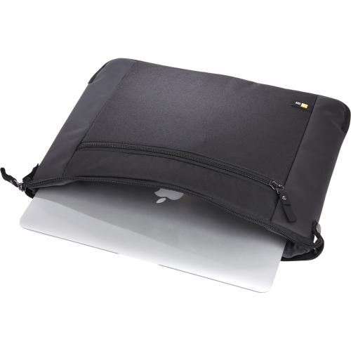 "Case Logic Intrata INT 114 Carrying Case (Attaché) For 14.1"" Notebook   Black Alternate-Image2/500"