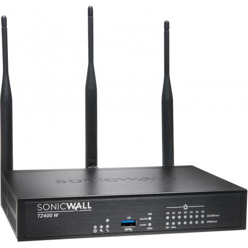 SONICWALL TZ400 WIRELESS AC SECURE UPGRADE PLUS 2YR Alternate-Image2/500