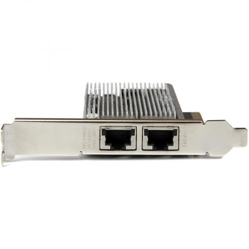StarTech.com 10G Network Card ? 2 Port ? NBASE T ? RJ45 Port ? Intel X550 Chipset ? Ethernet Card ? Intel NIC Card Alternate-Image2/500