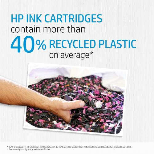 Original HP 952XL Cyan High Yield Ink Cartridge | Works With HP OfficeJet 8702, HP OfficeJet Pro 7720, 7740, 8210, 8710, 8720, 8730, 8740 Series | Eligible For Instant Ink | L0S61AN Alternate-Image2/500