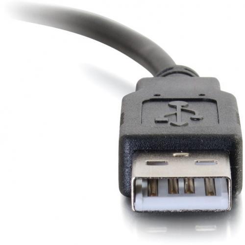 C2G 3ft USB C To USB Cable   USB C 2.0 To USB A Cable   M/M Alternate-Image2/500