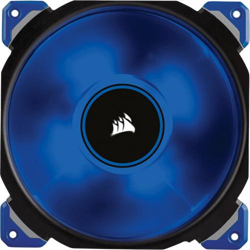 Corsair ML140 Pro LED, Blue, 140mm Premium Magnetic Levitation Cooling Fan CO 9050048 WW Alternate-Image2/500