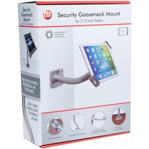 CTA Digital Security Gooseneck Table Wall Mount 7 13In Tablets Alternate-Image2/500