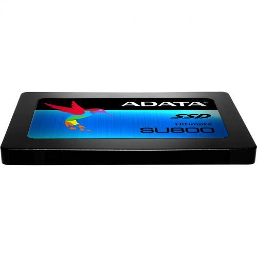 "Adata Ultimate SU800 ASU800SS 128GT C 128 GB Solid State Drive   2.5"" Internal   SATA (SATA/600)   Black Alternate-Image2/500"