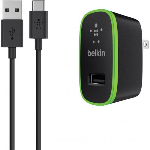 Belkin USB C To USB A Cable With Universal Home Charger Alternate-Image2/500