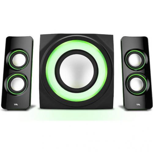 Cyber Acoustics Curve CA 3712BT 2.1 Bluetooth Speaker System   Black Alternate-Image2/500