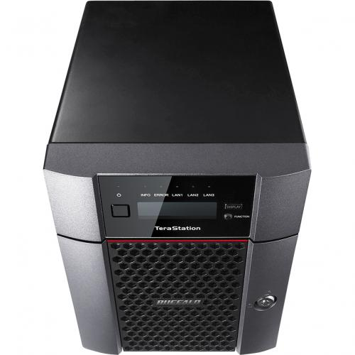 Buffalo TeraStation 5410DN Desktop 16TB NAS Hard Drives Included Alternate-Image2/500