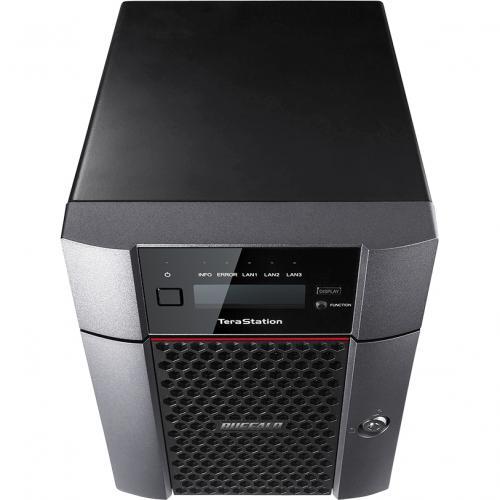Buffalo TeraStation 5410DN Desktop 24TB NAS Hard Drives Included Alternate-Image2/500