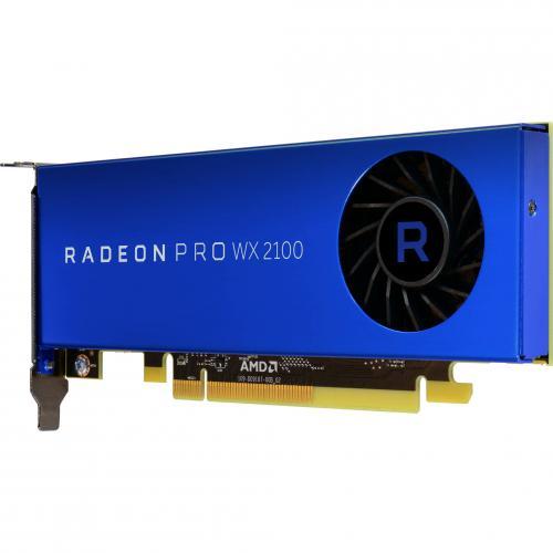 AMD Radeon Pro WX 2100 Graphic Card   2 GB GDDR5   Low Profile Alternate-Image2/500
