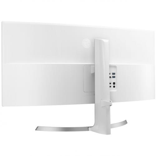 "LG Ultrawide 34CB99 W 34"" UW QHD Curved Screen LED LCD Monitor   21:9   White   TAA Compliant Alternate-Image2/500"