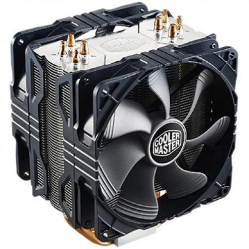 Cooler Master RR 212X 20PM A1 Hyper 212X CPU Cooler With Dual Fan (2) X 120 Mm Alternate-Image2/500