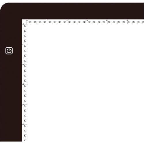 "Adesso CyberPad P1  12"" X 9"" LED Light Tracing Pad Alternate-Image2/500"