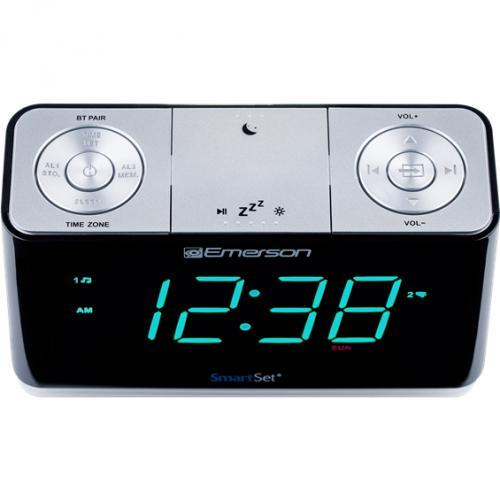 Emerson SmartSet ER100301 Desktop Clock Radio Alternate-Image2/500