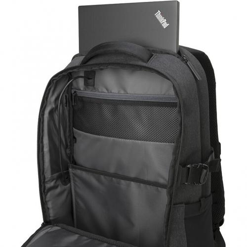 """Lenovo Passage Carrying Case (Backpack) For 17"""" Notebook   Charcoal Alternate-Image2/500"""
