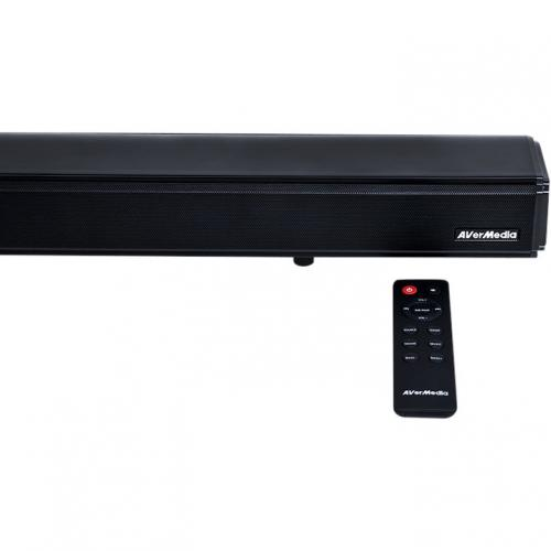 AVerMedia SonicBlast GS333 2.1 Bluetooth Sound Bar Speaker   60 W RMS   Black, Blue Alternate-Image2/500