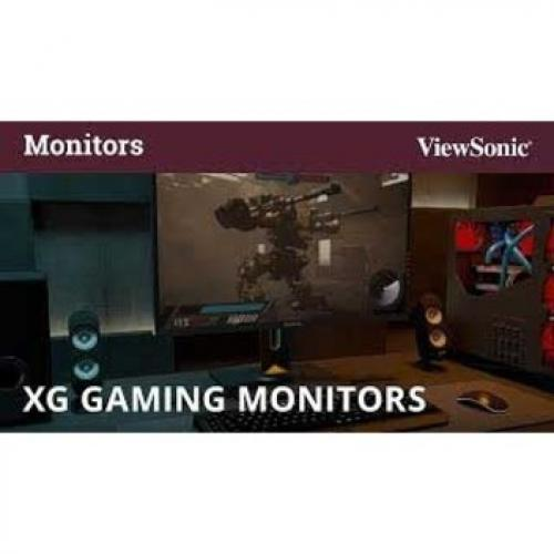 "Viewsonic XG2560 24.5"" Full HD WLED Gaming LCD Monitor   16:9   Black Alternate-Image2/500"