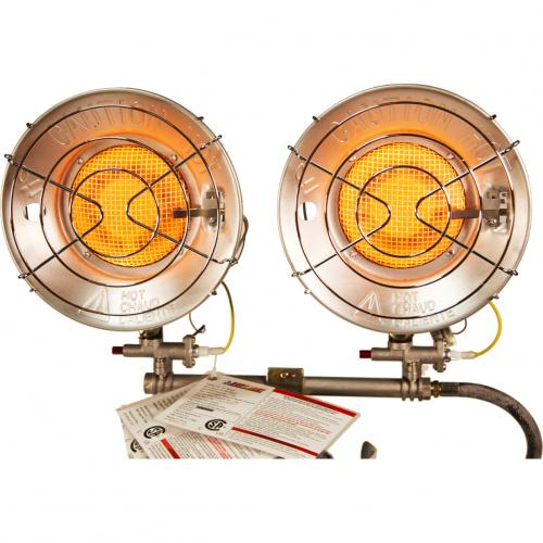 DuraHeat TT 30CSA Propane(LP) Double Tank Top Heater With Tip Over Shut Off Alternate-Image2/500