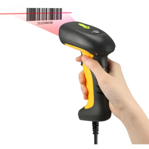 Adesso NuScan 5200TU  Antimicrobial & Waterproof 2D Barcode Scanner Alternate-Image2/500