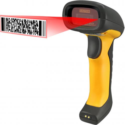 Adesso NuScan 5200TR   2.4GHz RF Wireless Antimicrobial & Waterproof 2D Barcode Scanner Alternate-Image2/500