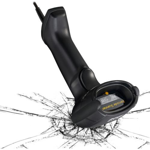 Adesso NuScan 7500CU Antimicrobial Handheld CCD Barcode Scanner Alternate-Image2/500