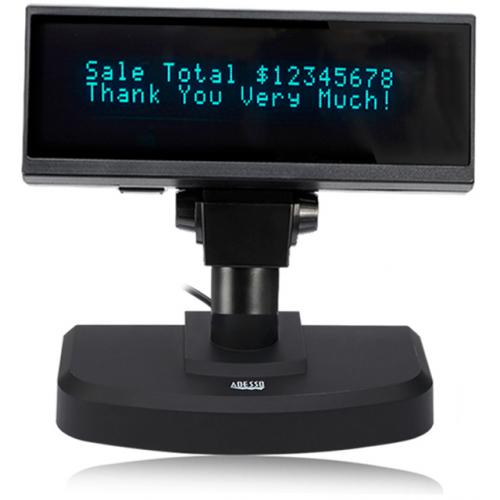 Adesso APD 200 Vacuum Fluorescent Pole Display Alternate-Image2/500