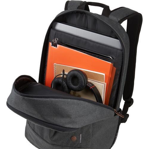 """Case Logic Era 3203697 Carrying Case (Backpack) For 16"""" Notebook   Black Alternate-Image2/500"""