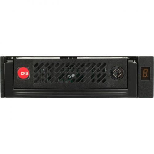 "CRU Data Express DE110 Drive Bay Adapter For 5.25"" Internal   Black Alternate-Image2/500"
