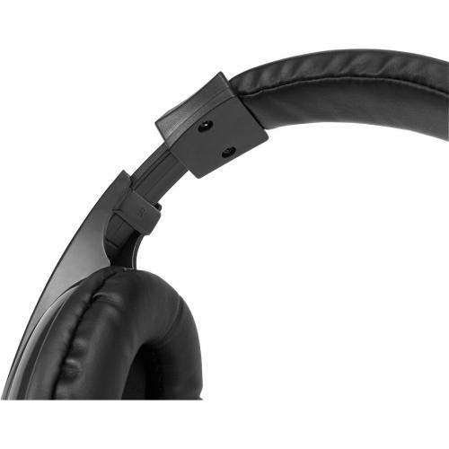 Adesso Xtream H5 Multimedia Headset With Built In Microphone Black   6 Ft Cable Length   3.5mm Audio Jack   Stereo Sound Mode   Omni Directional Microphone Alternate-Image2/500