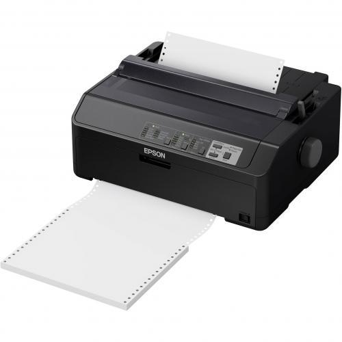 Epson LQ 590II 24 Pin Dot Matrix Printer   Monochrome   Energy Star Alternate-Image2/500
