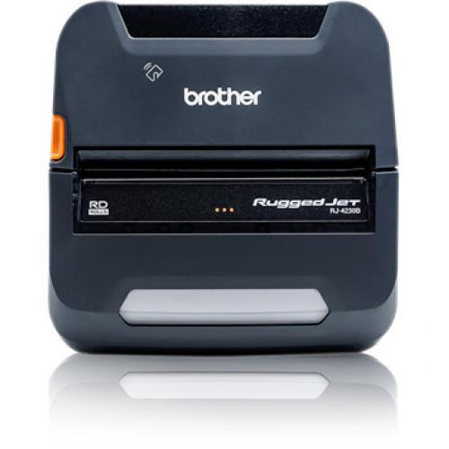 Brother RuggedJet RJ4230BL Direct Thermal Printer   Monochrome   Portable   Label/Receipt Print Alternate-Image2/500