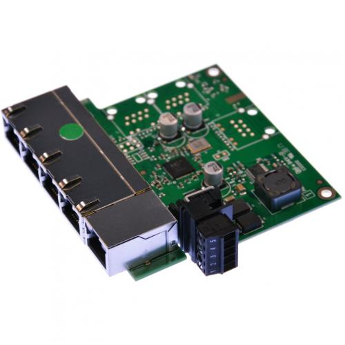 Brainboxes Industrial Embeddable 5 Port Ethernet Switch Alternate-Image2/500