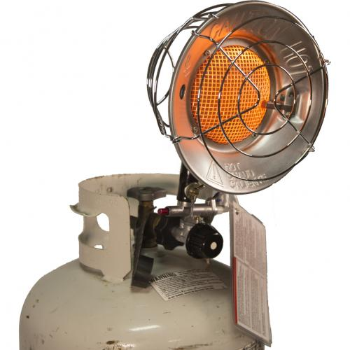 DuraHeat TT 15CSA Propane(LP) Tank Top Heater With Tip Over Shut Off Alternate-Image2/500