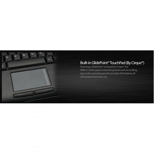 Adesso Wireless Mini Touchpad Keyboard Alternate-Image2/500