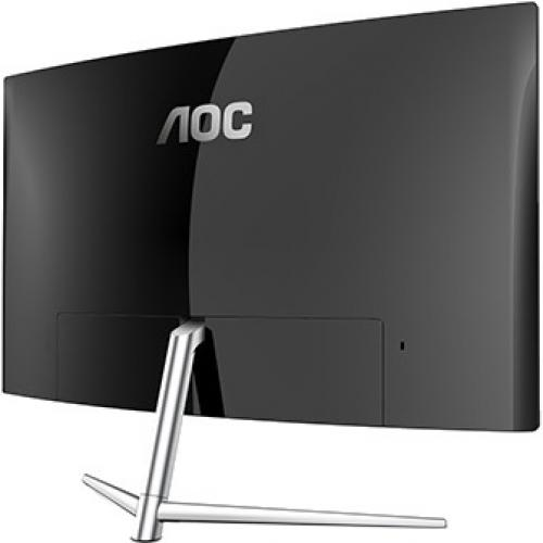 "AOC C32V1Q 31.5"" Full HD Curved Screen LCD Monitor   16:9   Black, Silver Alternate-Image2/500"